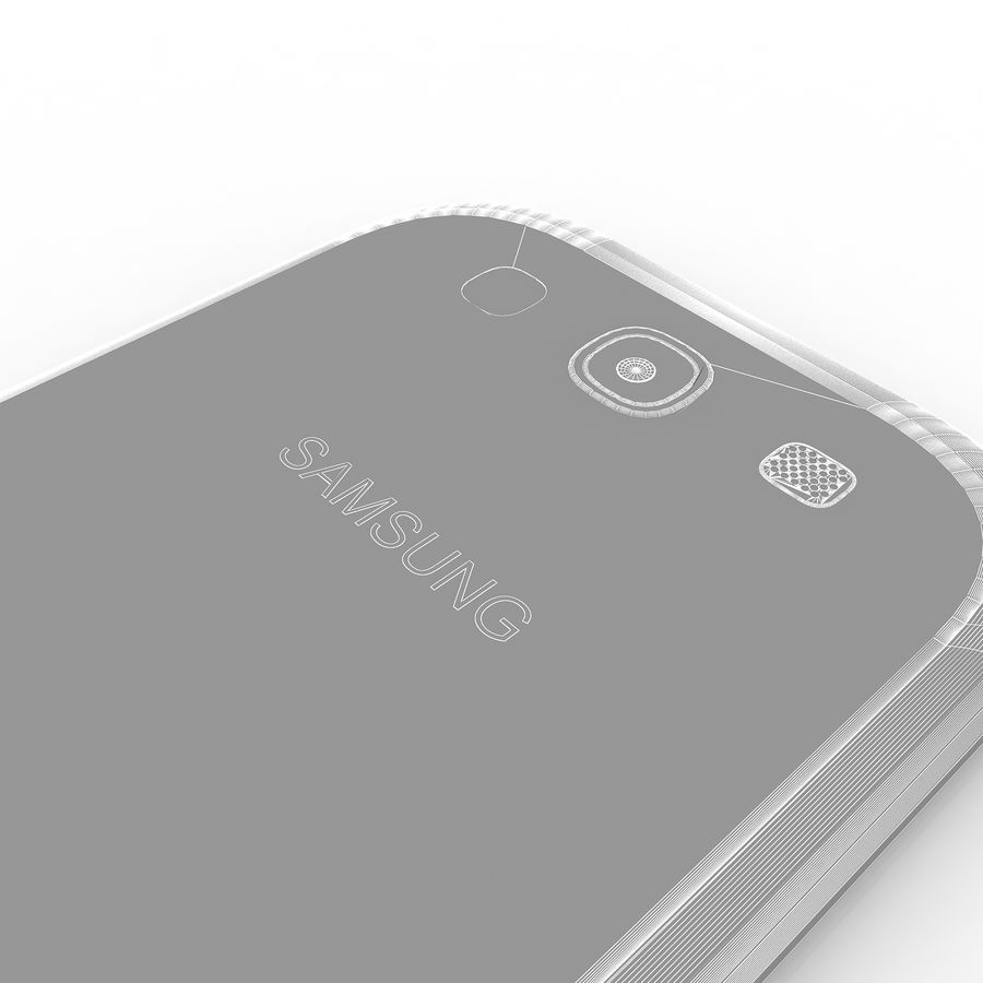 Samsung I9300I Galaxy S3 Neo royalty-free 3d model - Preview no. 12