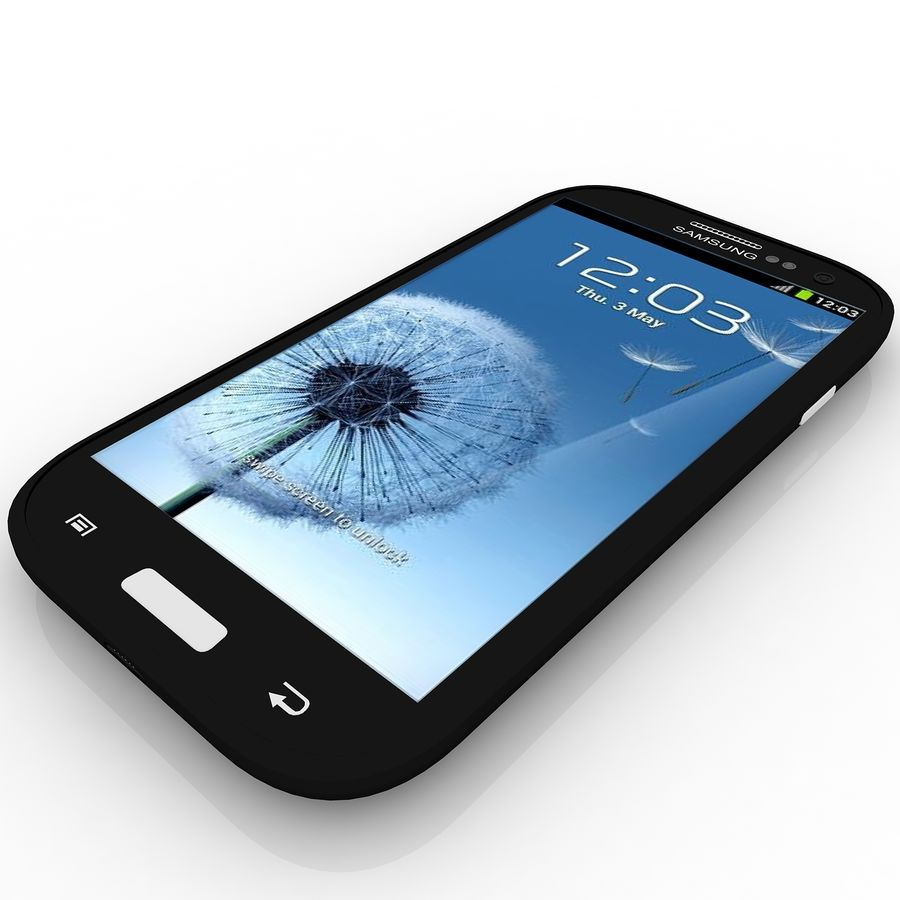 Samsung I9300I Galaxy S3 Neo royalty-free 3d model - Preview no. 1