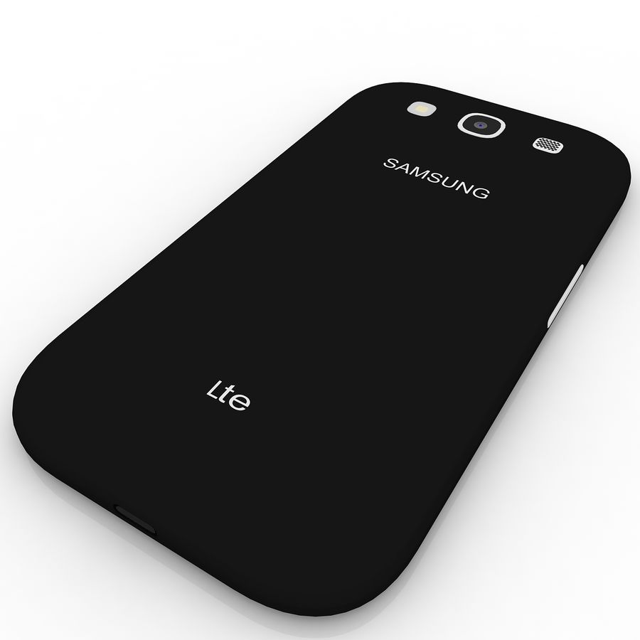 Samsung I9300I Galaxy S3 Neo royalty-free 3d model - Preview no. 5