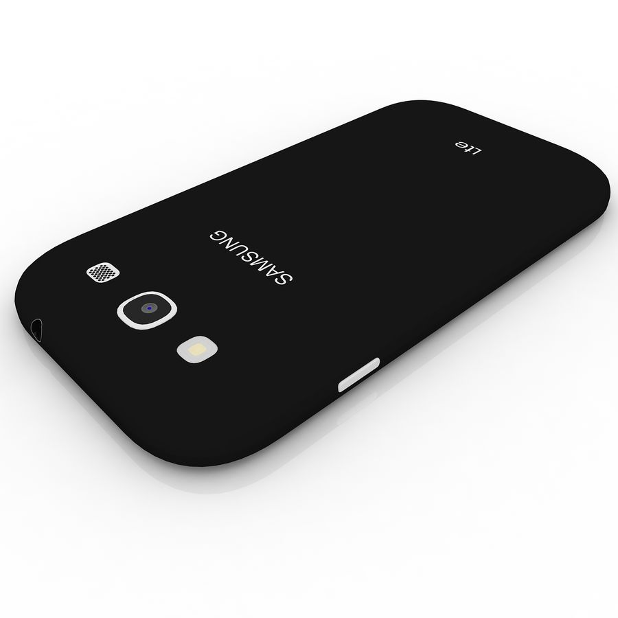 Samsung I9300I Galaxy S3 Neo royalty-free 3d model - Preview no. 7