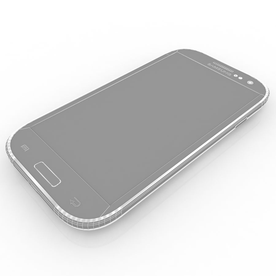 Samsung I9300I Galaxy S3 Neo royalty-free 3d model - Preview no. 9