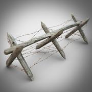 Antipersonnel obstacles 3d model