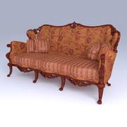 Chair Classic 2 3d model