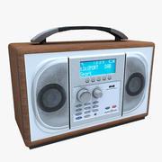 DAB Digital Radio 3d model