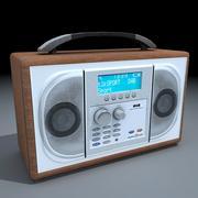 DAB数字广播 3d model