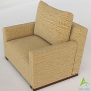 Jewel Box Club Chair 3d model