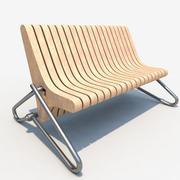 Кофейная скамейка 3d model