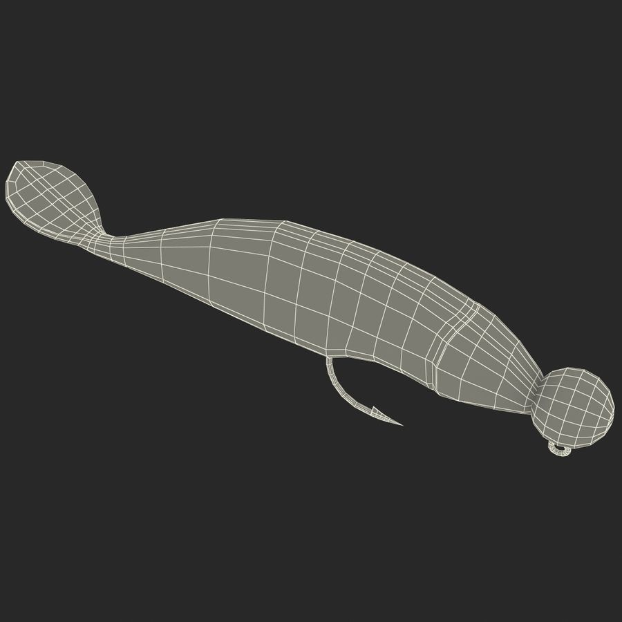 Fishing Lure royalty-free 3d model - Preview no. 18