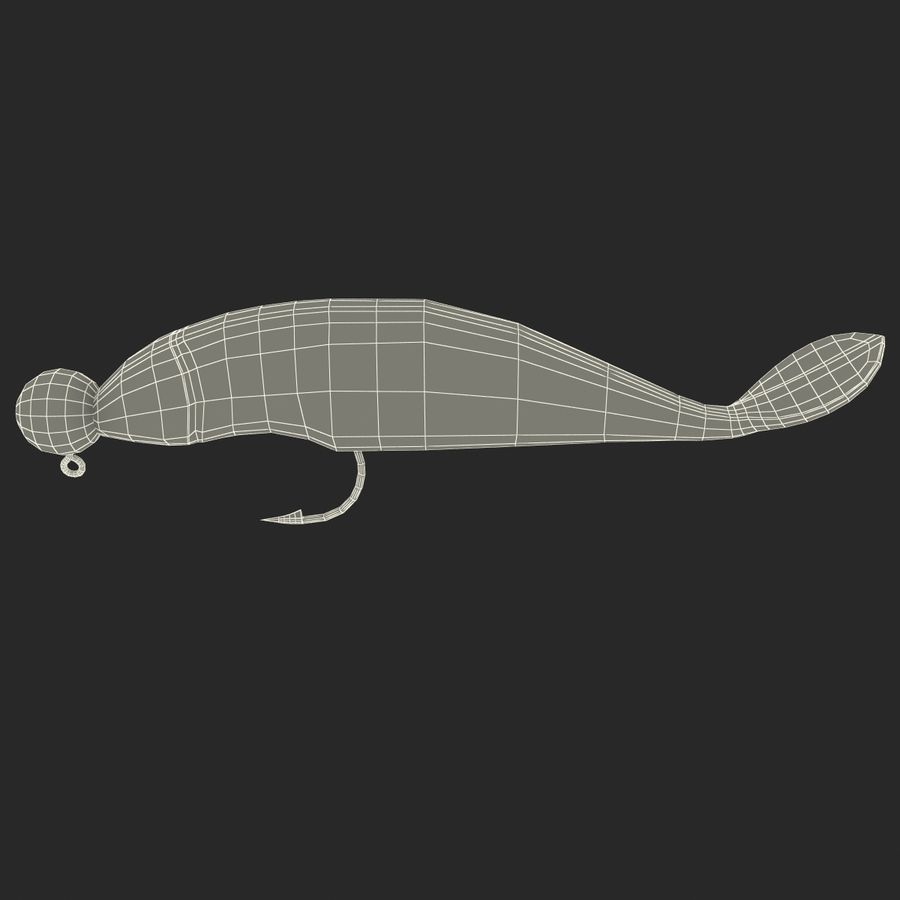 Fishing Lure royalty-free 3d model - Preview no. 27