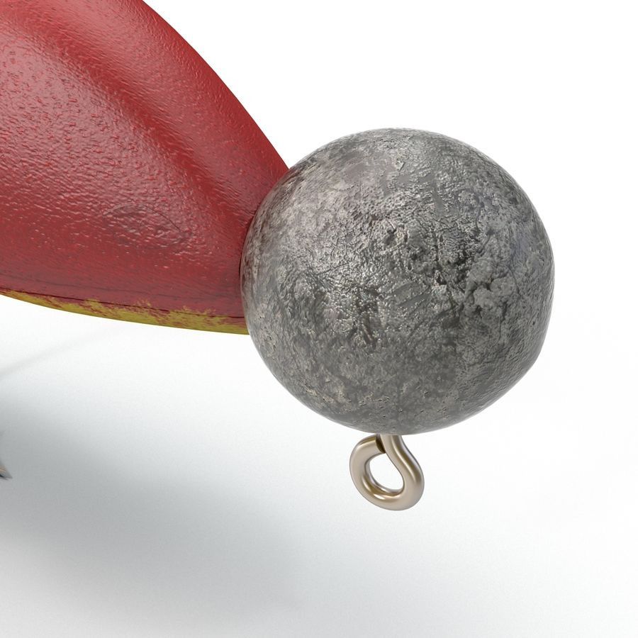 Fishing Lure royalty-free 3d model - Preview no. 5