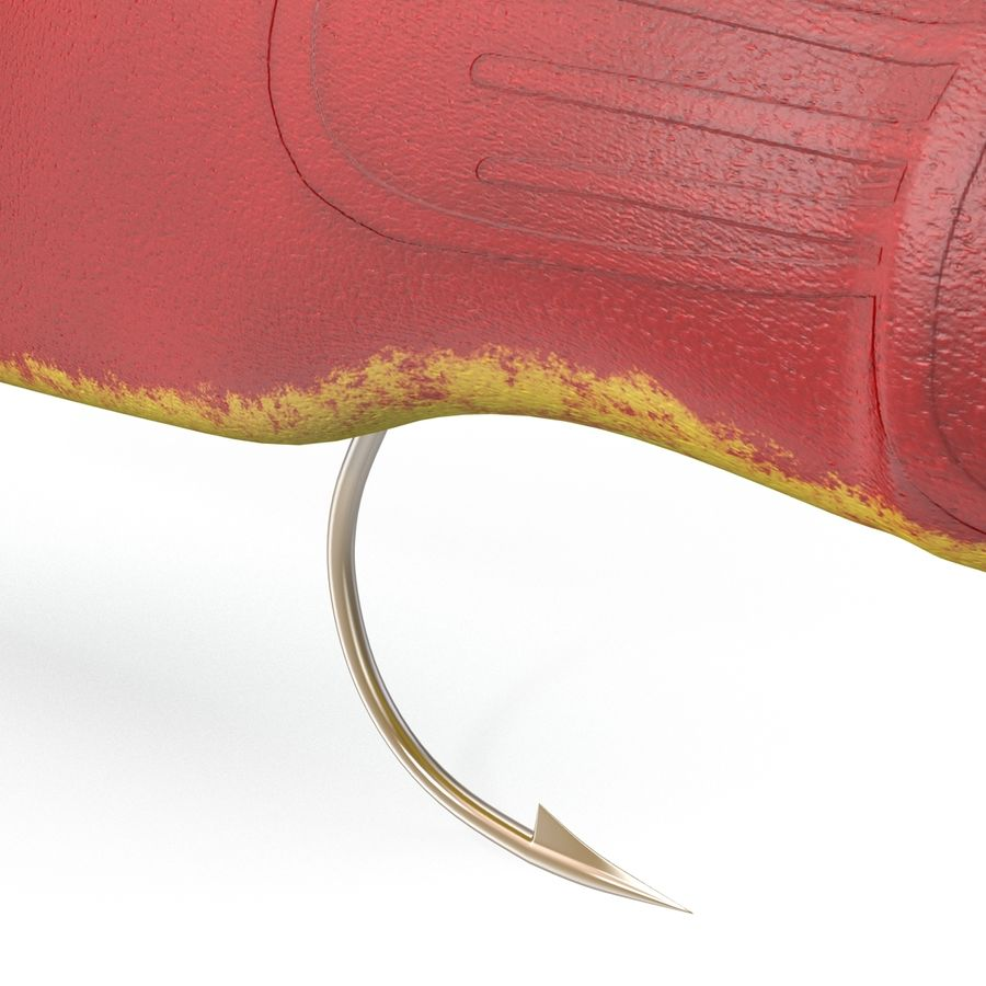 Fishing Lure royalty-free 3d model - Preview no. 12