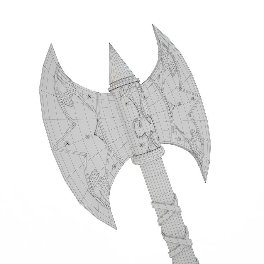 バイキングアックス royalty-free 3d model - Preview no. 9