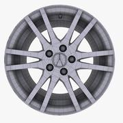 Acura Alloy Logo 3d model