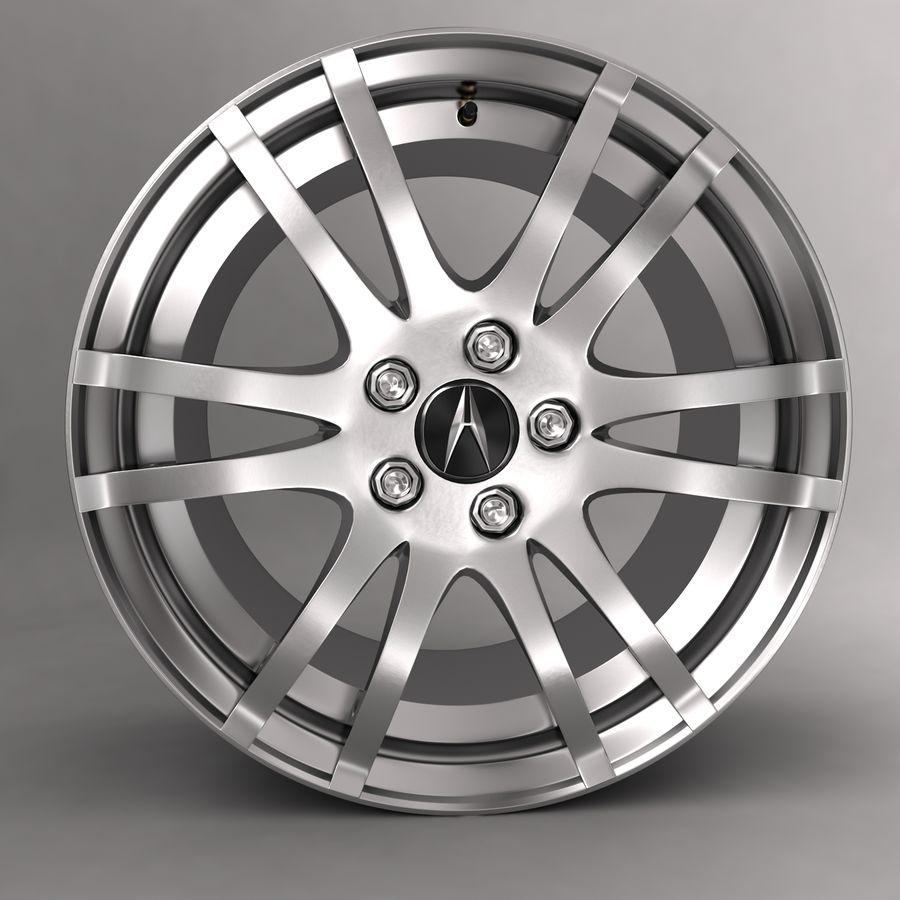 Logotipo de aleación de Acura royalty-free modelo 3d - Preview no. 1