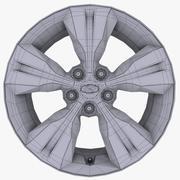 ロゴ付きのヒュンダイV合金 3d model
