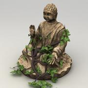 Statua Buddy Lowpoly 3d model