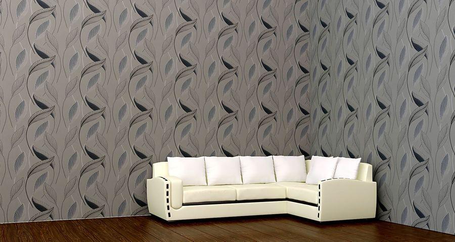 sofa narożna royalty-free 3d model - Preview no. 4