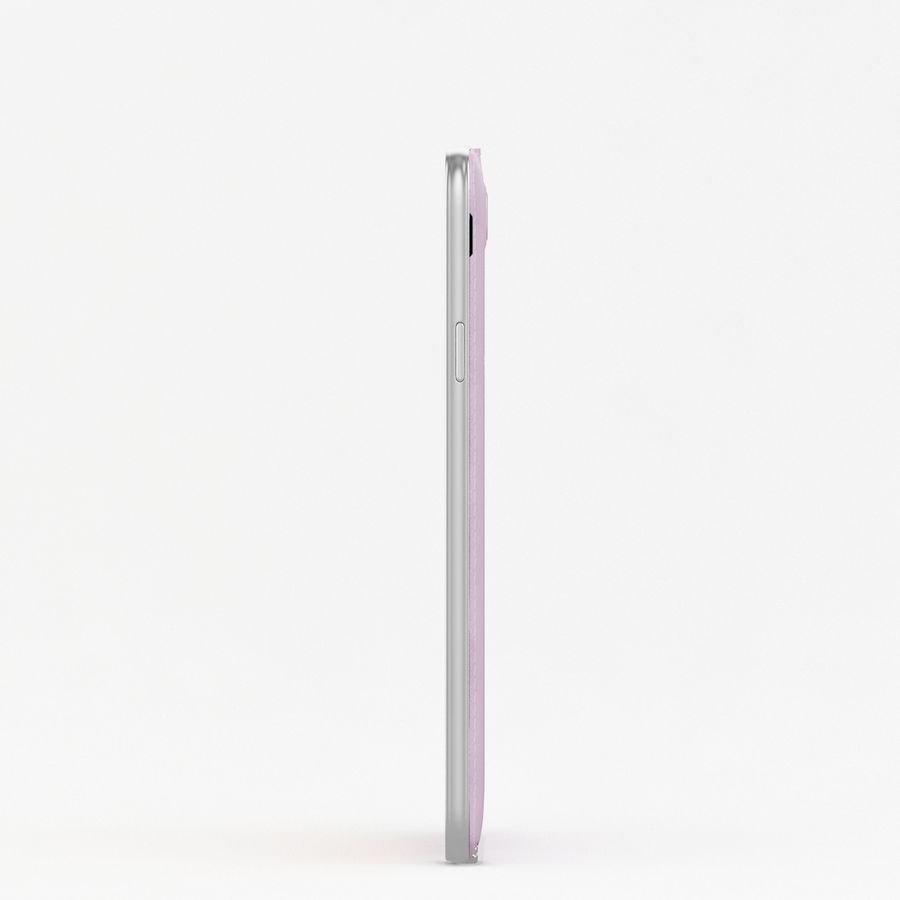 Samsung Galaxy Note 3 Neo Pink royalty-free 3d model - Preview no. 7
