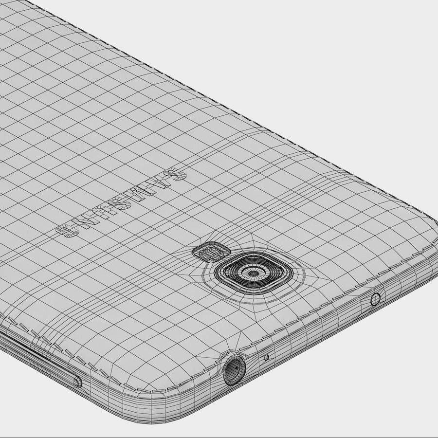 Samsung Galaxy Note 3 Neo Pink royalty-free 3d model - Preview no. 11