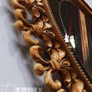 Holz Spiegel 3d model