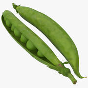 Green Peas 3d model