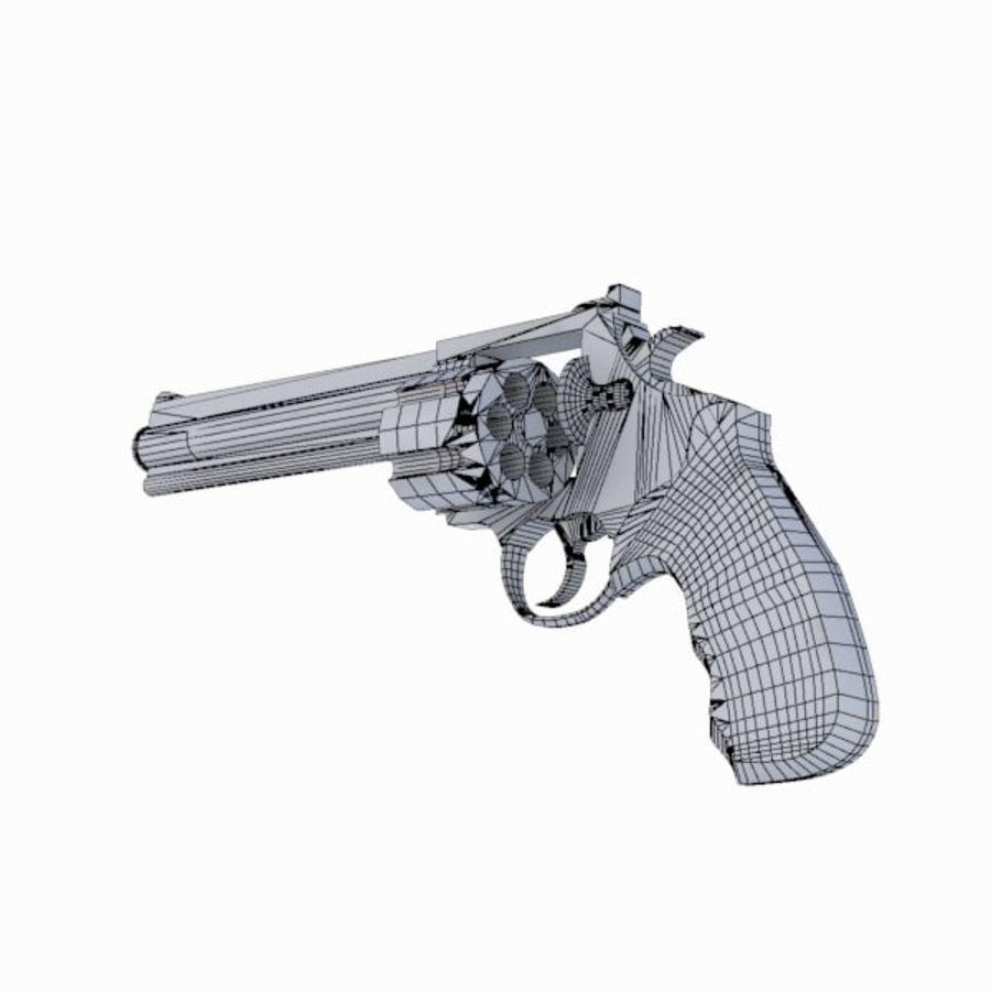 Colt Anaconda Gun royalty-free 3d model - Preview no. 14