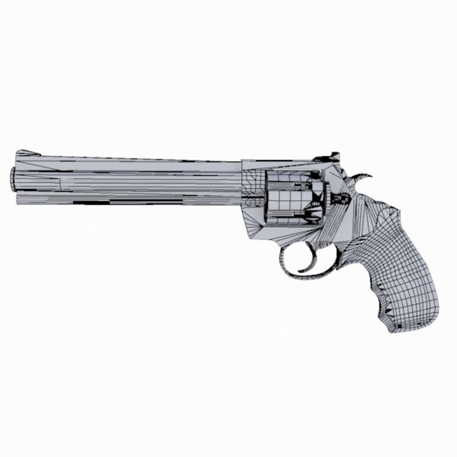 Colt Anaconda Gun royalty-free 3d model - Preview no. 15