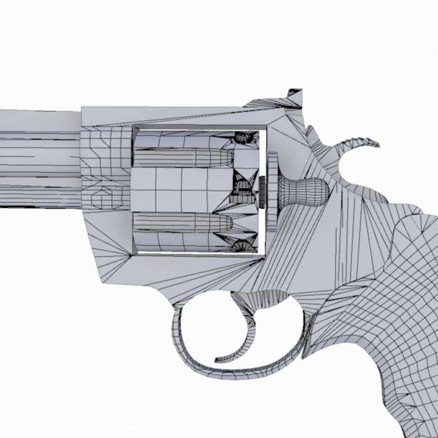 Colt Anaconda Gun royalty-free 3d model - Preview no. 18