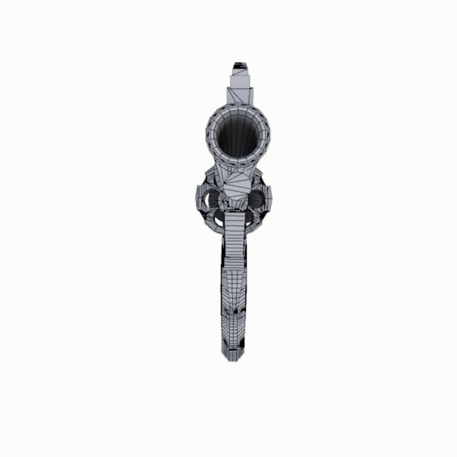 Colt Anaconda Gun royalty-free 3d model - Preview no. 16