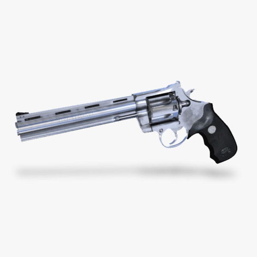 Colt Anaconda Gun royalty-free 3d model - Preview no. 1