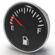 Jauge de carburant 3d model