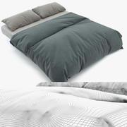 Фотореалистичная кровать 3d model