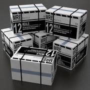 MRE-tillbehör 3d model