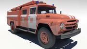 Feuerwehrauto ZIL130 3d model