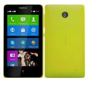 Nokia X & X + Sarı 3d model