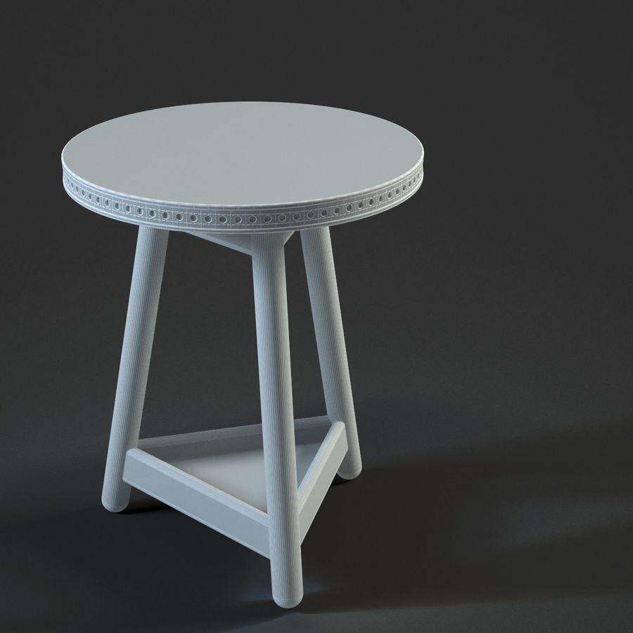 Прикроватный столик royalty-free 3d model - Preview no. 18