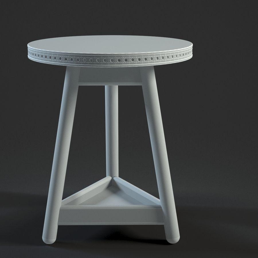 Прикроватный столик royalty-free 3d model - Preview no. 19