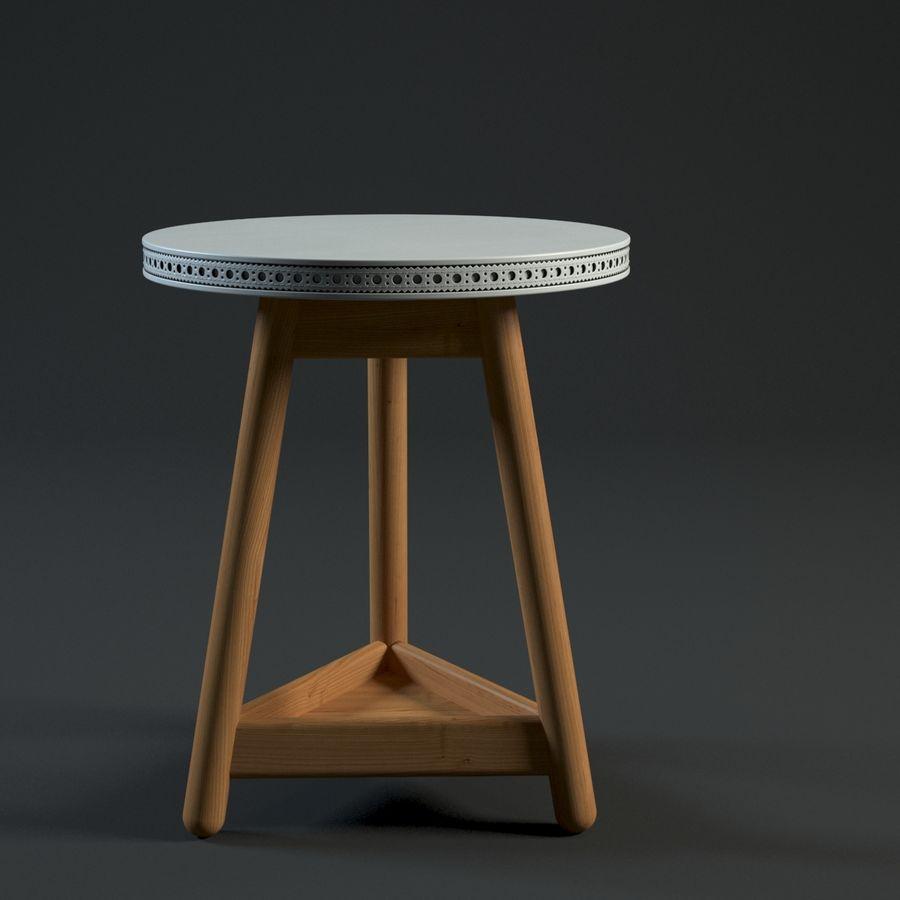Прикроватный столик royalty-free 3d model - Preview no. 1
