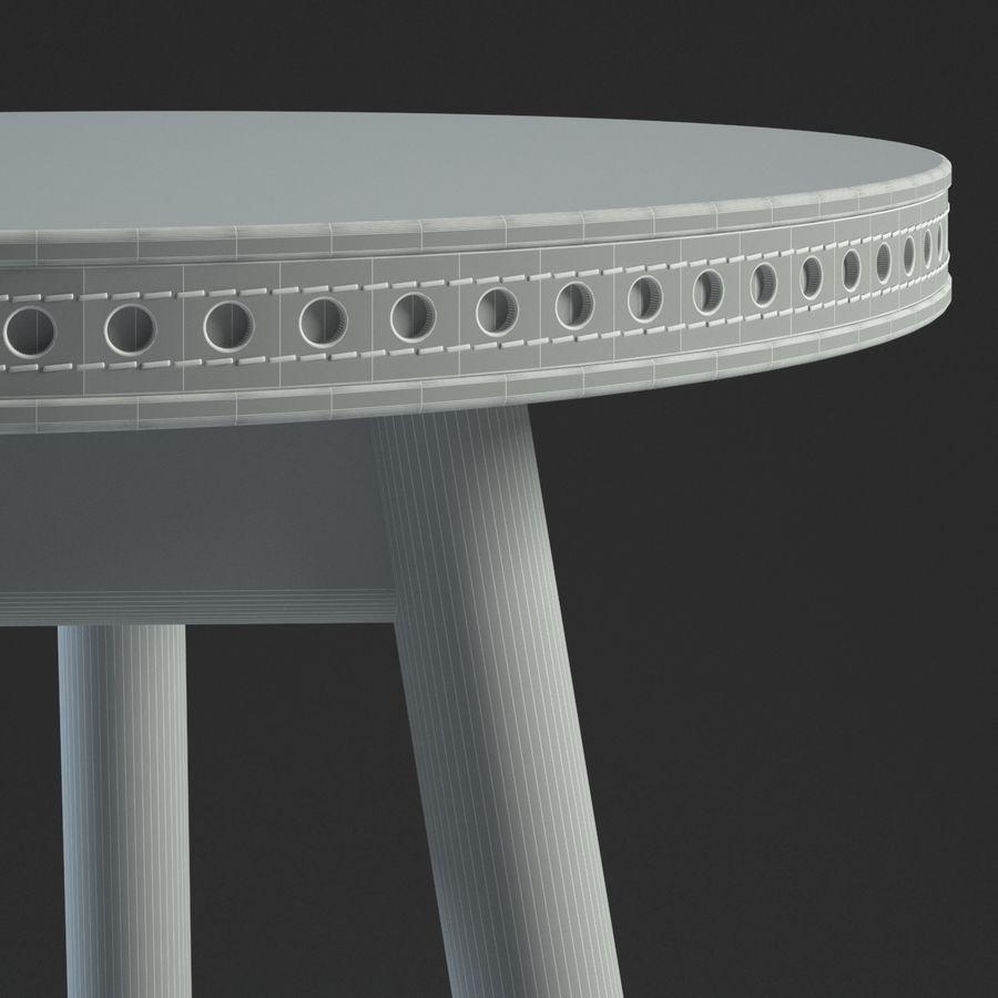 Прикроватный столик royalty-free 3d model - Preview no. 20