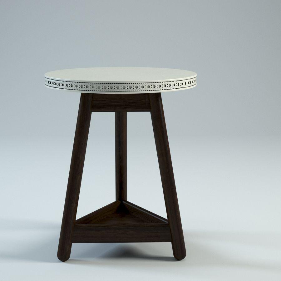 Прикроватный столик royalty-free 3d model - Preview no. 5