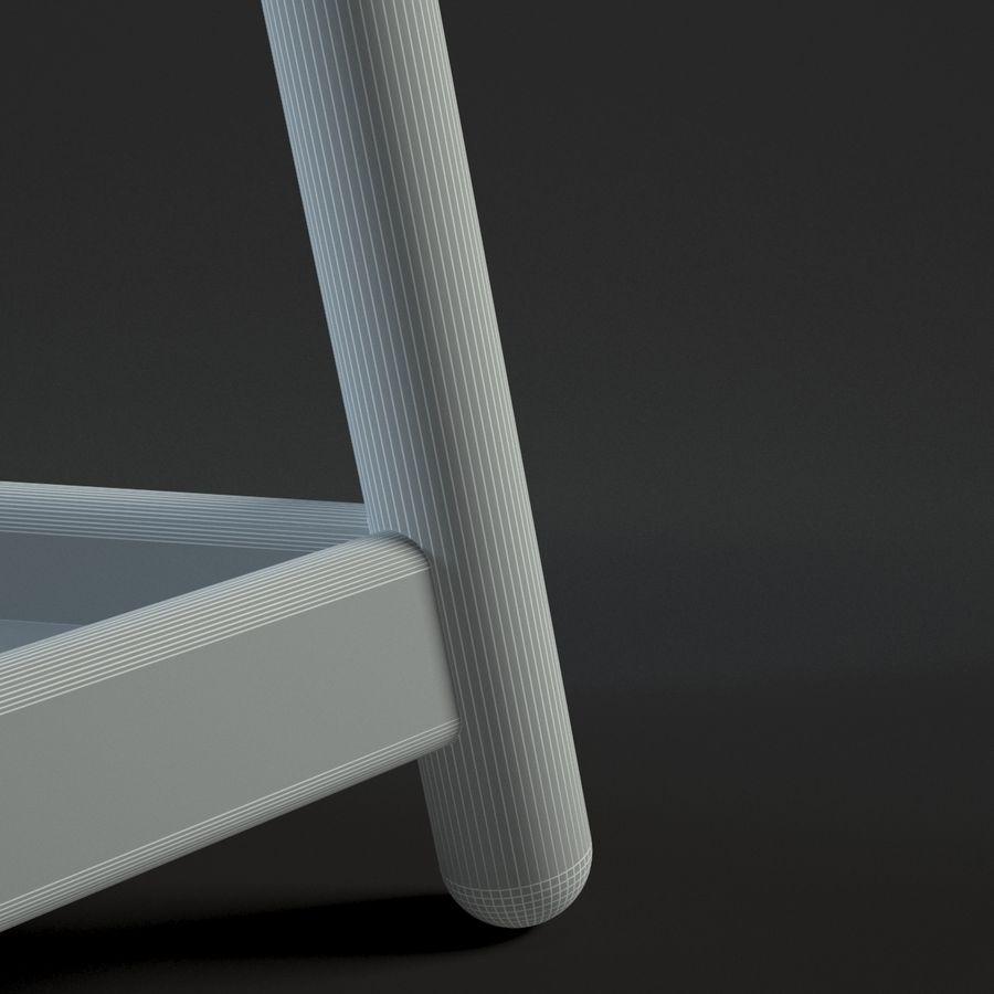 Прикроватный столик royalty-free 3d model - Preview no. 21