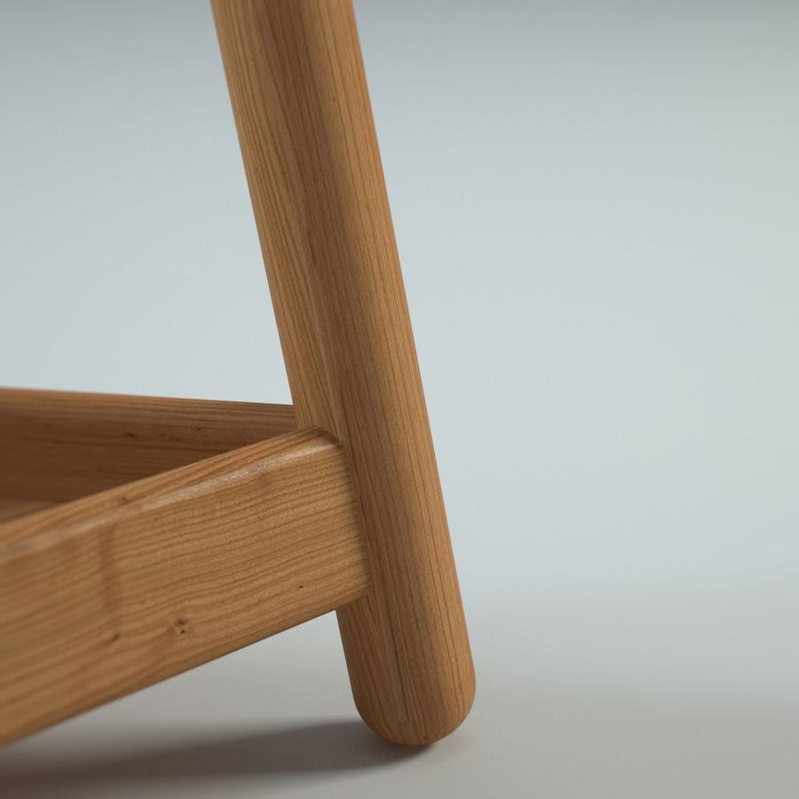 Прикроватный столик royalty-free 3d model - Preview no. 16