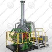 Uitrusting Kusto 3d model