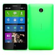 Nokia X & X + Green 3d model