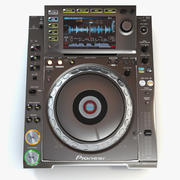 Pioneer CDJ2000 Nexus Platinum 3d model