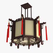 Chińska lampa 3d model