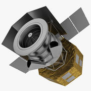 Akari Japan Astronomy Satellite 3d model