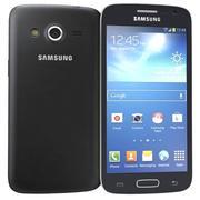 Samsung Galaxy Core Lte Zwart 3d model