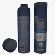 Schiuma da barba delicata originale Nivea Men 3d model