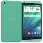 HTC Desire 816グリーン 3d model